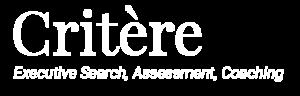 Logo Critère